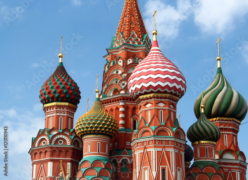 Póster Mosca. Cattedrale di San Basilio