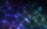 Sterren nacht en heelal