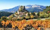 La Roque-Alric dans les dentelles de Montmirail