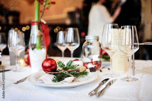 Weihnachten Tischdekoration - 120170727