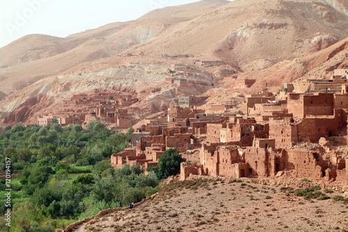 Fotobehang Marokko Aldeia em Marrocos