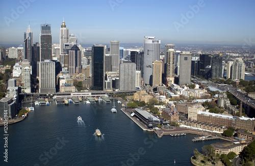 Poster Sydney Circular Quay.