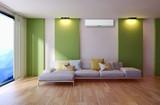 Soggiorno moderno con aria condizionata