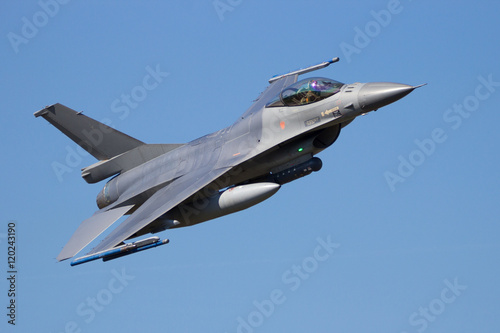 obraz PCV Fighter jet flyby