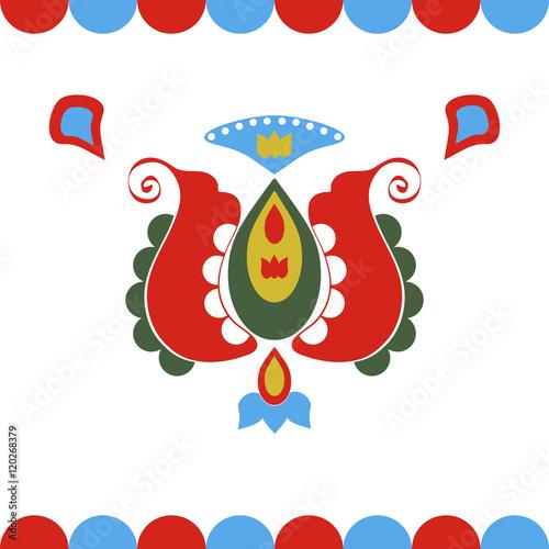 Fototapeta folklore decoration