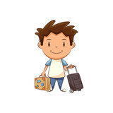 Child and baggage