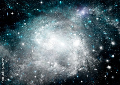 galaxy in a free space © marusja2