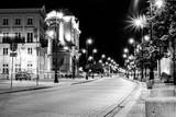 Fototapety Warszawa nocą