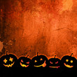Orange grunge Halloween background