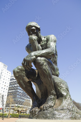 Papiers peints Buenos Aires The Thinker by Rodin