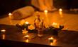 Leinwanddruck Bild - Decoration for relax massage