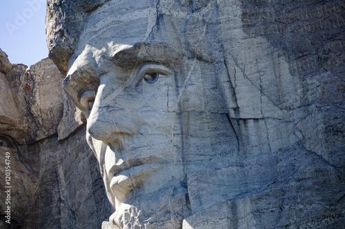 Abraham Lincoln at Mt. Rushmore National Memorial Poster