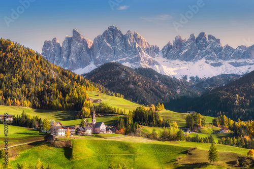 Rural Landscape with Mountains