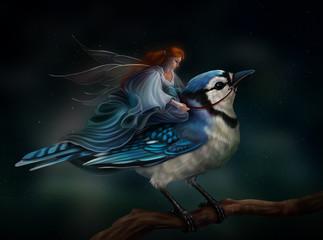 Фея и птица