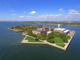Aerial photo Ellis Island New Jersey - 120408195