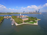 Aerial photo Ellis Island New Jersey - 120408196