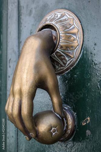 Poster Historischer Türknauf (Historic Doorknocker, Door Knob)