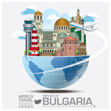 Republic Of Bulgaria Landmark Global Travel And Journey Infograp