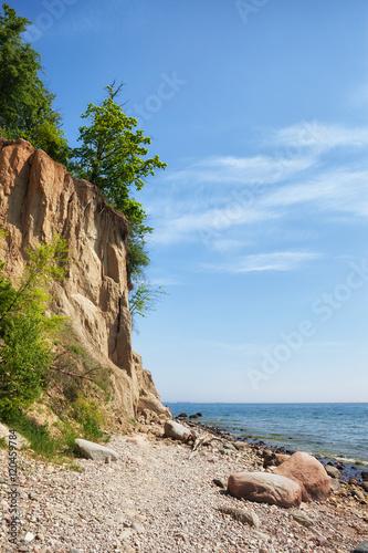 Zdjęcia na płótnie, fototapety na wymiar, obrazy na ścianę : Orlowo Cliff at Baltic Sea in Gdynia