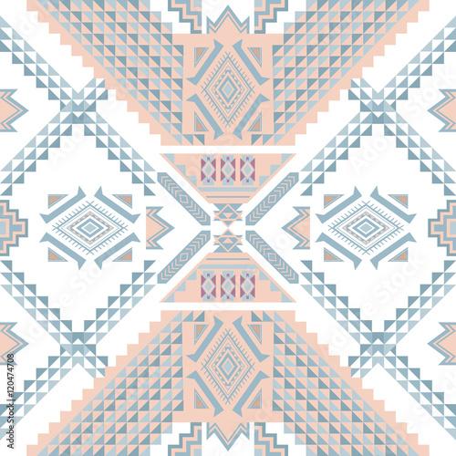 Ethnic geometrical pattern, tribal seamless pattern - 120474708