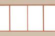 Window glass for show exterior views. - 120475306