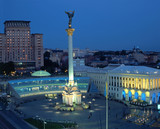 Nezalezhnosti square in Kiev