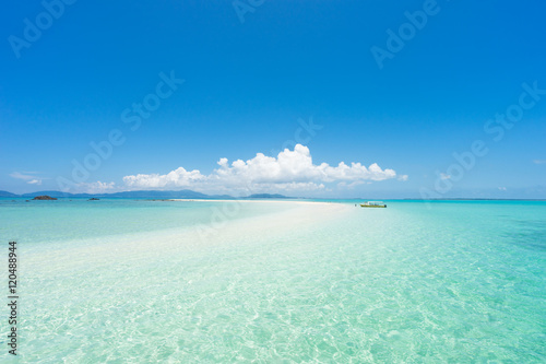 Tropical beach paradise of Japan Poster