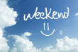 The Weekend =) written in the sky - 120517523