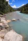 Doire de Ferret, torrente affluente della Dora Baltea, in val Ferret (Valle Aosta)