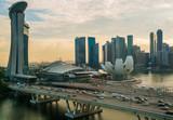 Сингапур. Отель Марина-Бэй.