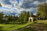 the Ancient Russian northern monastery