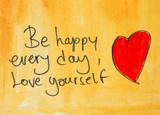 optimistic message be happy