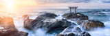 Fototapety Japanisches Torii am Meer
