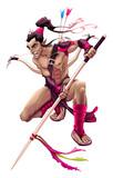 Elf warrior character