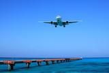 下地島空港着陸