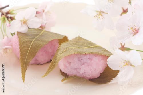 桜餅 Poster