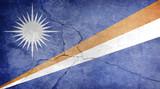 MARSHALL ISLANDS grunge flag
