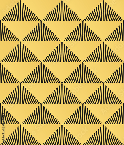 Art Deco seamless pattern - 120671785
