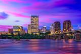 Richmond, Virginia Downtown Skyline