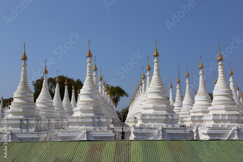 Poster Sandamuni Paya pagoda in Mandalay