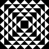 Optical Illusion Triangles Pattern - 120701533