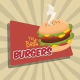 cartoon fast food design design vector illustration eps 10