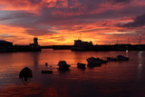 St.Helier harbour, Jersey, U.K.