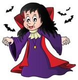 Vampire girl theme image 1