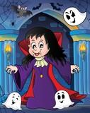 Vampire girl theme image 2