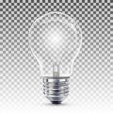 Light bulb illuminated - 120762555