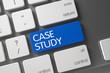 Case Study Button. 3D Illustration.