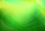 Fototapety abstract wave background green