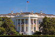 The White House in Washington DC at beautiful day, USA