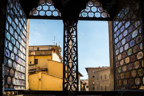 Bargello Museo en Florencia en Toscana , Italia Poster